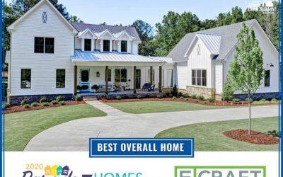 Ecraft, 2020 Parade of Homes award winner!