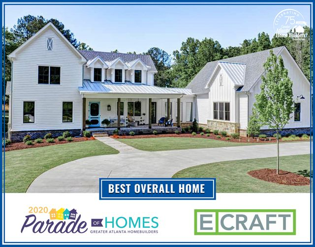Ecraft, 2020 Parade of Homes award winner!
